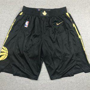 New Men's Toronto Raptors Black Shorts